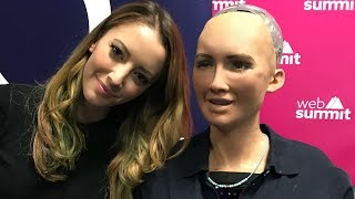 What Robots REALLY Think of Humans   A Conversation with Sophia