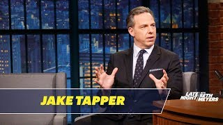 Jake Tapper Shares His Thoughts on Michael Wolff
