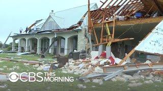 Severe storms tear through Texas