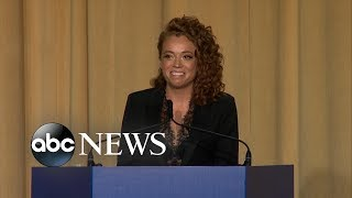 Michelle Wolf performs stand-up routine at White House Correspondent