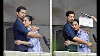 Veere Di Wedding - Kareena Kapoor And Sumeet Vyas Romantic Scene Shoot
