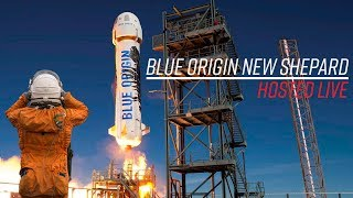 Live Hosting Blue Origin New Shepard Launch Abort Test