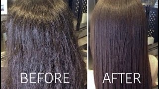SAYING GOODBYE TO FRIZZY HAIR! | Carli Bybel