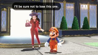 Mario Gets Pauline a Birthday Present - Super Mario Odyssey