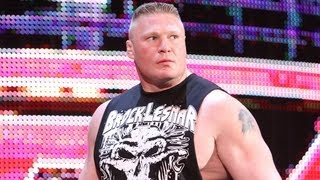 Brock Lesnar returns to WWE: Raw, April 2, 2012