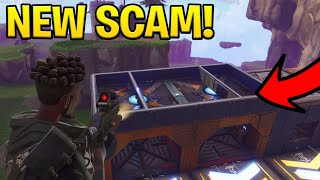 *NEW SCAM* The Invisible Ceiling Trap Scam! (Scammer Gets Scammed) Fortnite Save The World