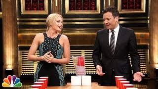 Flip Cup with Margot Robbie