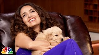 Pup Quiz with Salma Hayek