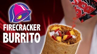 DIY FIRECRACKER BURRITO & SPICY POP ROCKS
