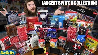 Worlds LARGEST Nintendo Switch Game Collection
