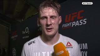 "Alexander Volkov: ""I want a title fight in Russia next!"" Drago has big hopes after UFC London win"