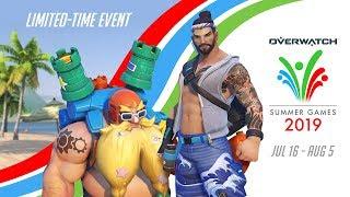 Overwatch Seasonal Event | Summer Games 2019 (EU)