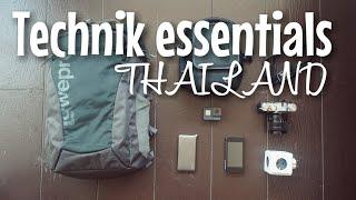 TECHNIK EQUIPMENT + GEWINNSPIEL I Backpacking Thailand I Mellis Blog