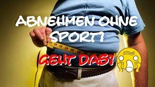 Abnehmen ohne Sport? 💪Fitness-Experte Marcel klärt auf (Folge 1) ✔