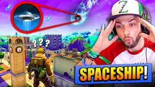 NEW *SECRET* SPACESHIP FOUND in Fortnite: Battle Royale!