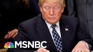 President Donald Trump Denies 'Shithole' Comment As Bipartisan Backlash Continues | MSNBC