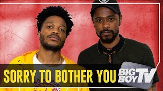 Lakeith Stanfield & Jermaine Fowler on