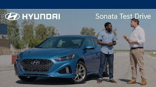 Hyundai SONATA Test Drive & Surprise - Corey | 2018 Hyundai SONATA