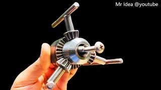 Wow! 4 Awesome Life Hacks with Drill Chuck from Drill Machine DIY