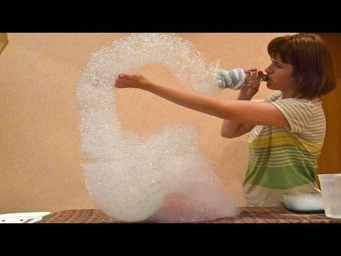 Рецепты больших мыльных пузырей в домашних условиях