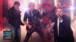 Front Man Battle w/ Queen + Adam Lambert