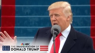 President Donald Trump Calls For Unity Through Patriotism At Inauguration | NBC News