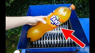 FANTA SHREDDING! AMAZING EXPERIMENT!