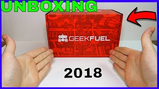 (JANUARY 2018) Geek Fuel - Unboxing