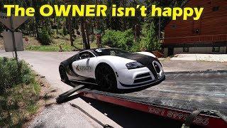 I drove a $2Million Bugatti Veyron and I BROKE IT