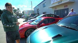ANGRY OLD MAN VS TEENS WITH SUPERCARS!