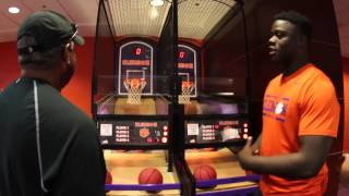 """Clemson Football // The """"Players Lounge"""" with Shaq Lawson"""