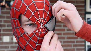Making the SPIDER-MAN Mask! Movie Costume Replica