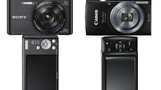 Sony W830 vs Canon ELPH 160