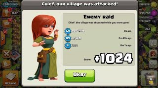Professionals Base (Village) For Town Hall 5 (Clash Of Clans) (Easy And Helpful)