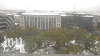Watch live: Winter view from The Washington Post