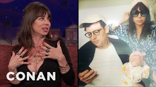 Natasha Leggero Wasn't A Fan Of Skin-To-Contact With Her Newborn  - CONAN on TBS