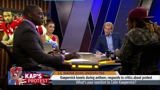 "SHANNON SHARPE DESTROYS LIL WAYNE; ""IF YOU DON"