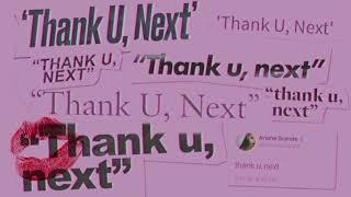 Ariana Grande - thank u, next (clean)