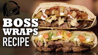 Homemade Boss Wraps