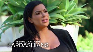 KUWTK | Kim & Kourtney Kardashian Attack Kris With Water Balloons | E!