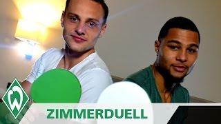 Zimmerduell: Serge Gnabry & Robert Bauer | SV Werder Bremen