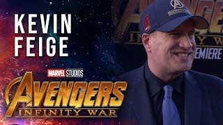 Kevin Feige Live at the Avengers: Infinity War Premiere