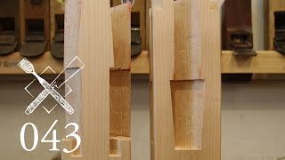 """Joint Venture Ep.43: Four faced goose neck splice """"Sihou kama tsugi"""" (Japanese Joinery)"""