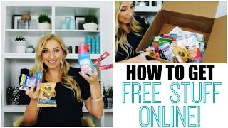 How to Get Free Stuff Online! (The Secret is Out!)