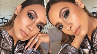 SKIN TO FULL GLAM GRWM | DESI PERKINS