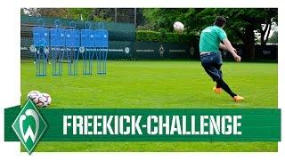 Freistoß-Challenge: Zlatko Junuzovic vs Izet Hajrovic I Werder Bremen