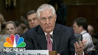 Rex Tillerson: Russian Hacking Report 'Clearly Is Troubling' | NBC News