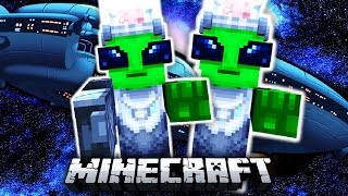 Minecraft ALIEN ANGRIFF?!