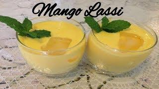 How to: Mango Lassi - Summer Recipe - Pakistani/Indian Cooking with Atiya