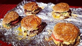 The Five Guys 5 Burger Challenge
